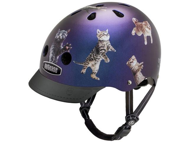 Nutcase Street Casco Niños, space cats